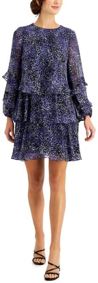Taylor Petite Tiered A-Line Dress