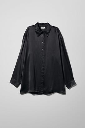 Weekday Carol Shirt - Beige