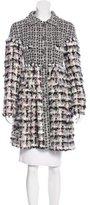 Chanel Fantasy Fur Tweed Coat
