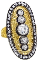 Arman Oval Five Diamond Ring