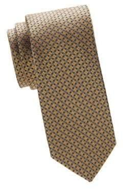 Canali Graphic Silk Tie