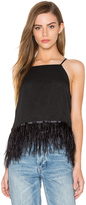 Endless Rose Feather Detail Tank