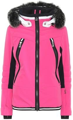 Toni Sailer Cosima fur-trimmed ski jacket