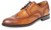 Antonio Maurizi Leather Wingtip Derby