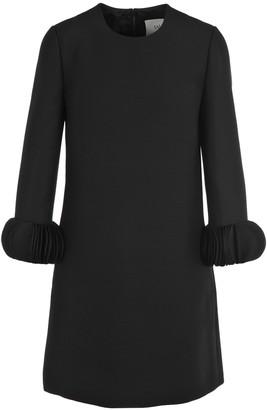 Valentino Ornamental Sleeve Shift Dress