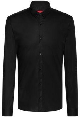 HUGO Extra-slim-fit shirt in stretch cotton