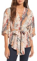 Trouve Women's Wrap Blouse