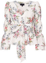Exclusive for Intermix Rochelle Floral V-Neck Top