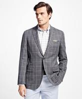 Brooks Brothers Fitzgerald Fit Windowpane Sport Coat