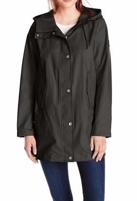 Nautica Women's Aline Rain Coat