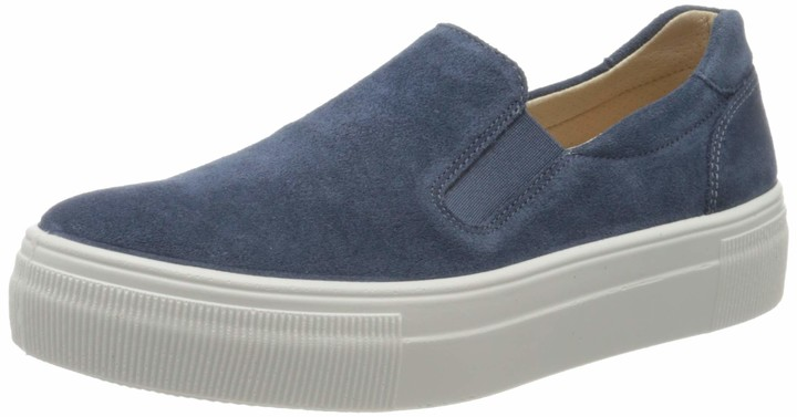 Womens Blue Slip-on Trainers | Shop the