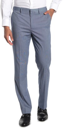 "English Laundry Sharkskin Flat Front Suit Separates Pants - 30-32"" Inseam"