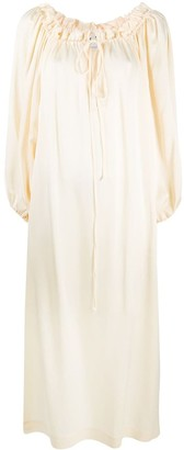 L'Autre Chose Loose-Fit Midi Dress