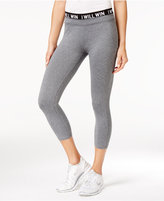 Energie Active Juniors' Poppy Cropped Graphic Leggings
