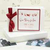 Dreams to Reality Design Ltd Personalised Couples Photo Album