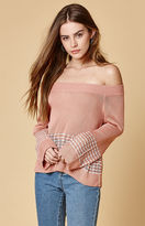 Honey Punch Off-The-Shoulder Sweater