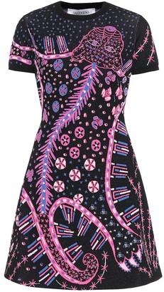 Valentino Knitted jacquard dress