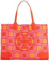 Tory Burch Ella Hicks Printed Tote Bag
