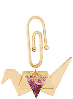 Aurelie Bidermann Origami sapphire and diamond charm pendant