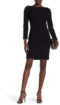 Tommy Hilfiger Ribbed Long Sleeve Dress