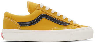Vans Yellow OG Style 36 LX Low Sneakers