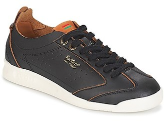 Kickers KICK 18 women's Shoes (Trainers) in Black