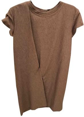 Brunello Cucinelli Beige Wool Dresses