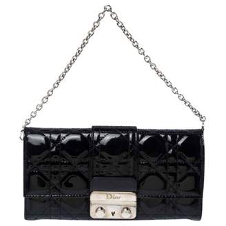 Christian Dior Miss Black Patent leather Clutch bags
