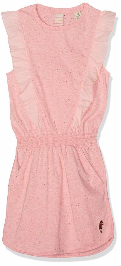 Scotch /& Soda Girls Organic Cotton Jersey Ruffle Shorts