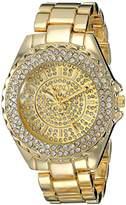 XOXO Women's XO5744 Analog Display Analog Quartz Gold Watch