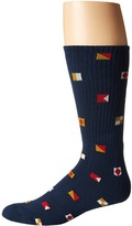 Vans Nautical Flags Crew 1-Pair Pack Men's Crew Cut Socks Shoes