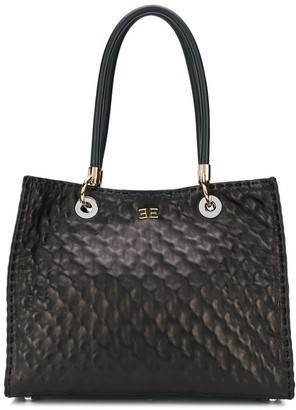 Ermanno Scervino quilted effect tote bag