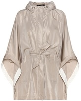 Loro Piana Judith silk-blend cape