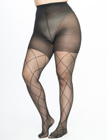ELOQUII Plus Size Diamond Tights