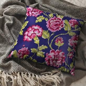 Ophelia & Co. Waldenburg Floral Throw Pillow Color: Blue