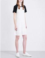 James Perse Raglan-sleeve cotton and linen-blend dress