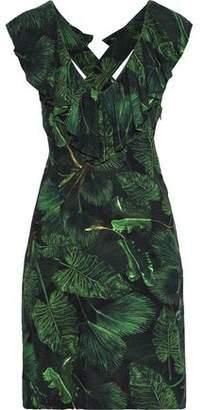 Isolda Maite Ruffled Voile Dress