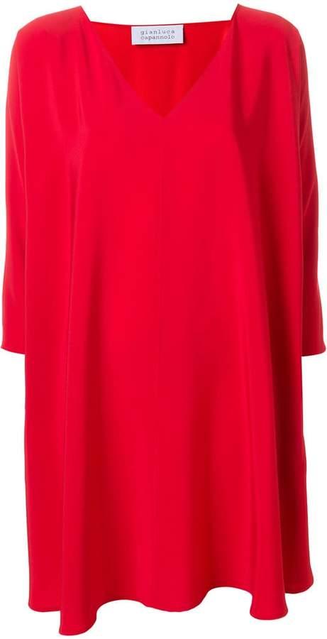 Gianluca Capannolo v-neck swing dress