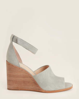 Vince Camuto Pea Pod Deedriana Wedge Suede Sandals