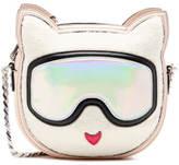 Karl Lagerfeld Women's Choupette Cross Body Bag Cream