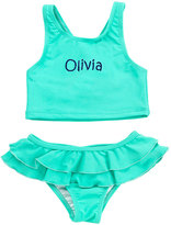 Princess Linens Mint Personalized Tankini Top & Bottoms - Toddler & Girls
