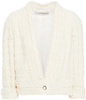IRO Cropped Cotton-blend Tweed Jacket