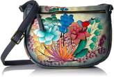 Anuschka Anna Handpainted Leather Medium Cross Body