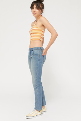 BDG Tara Low-Rise Slim Jean Light Wash