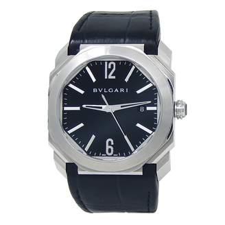 Bulgari Octo Black Steel Watches