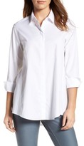 Foxcroft Women's Stretch Poplin Tunic