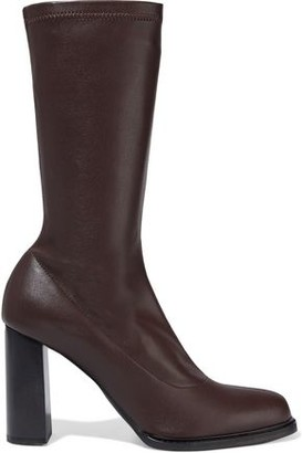 Stella McCartney Palmer Faux Stretch-leather Sock Boots