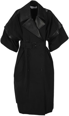 J.W.Anderson Short-Sleeve Belted Trench Coat