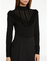 Somerset by Alice Temperley Frill Pointelle Knit Jumper
