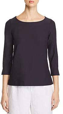 Eileen Fisher Three-Quarter-Sleeve Top